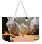 Peach Elegance Weekender Tote Bag