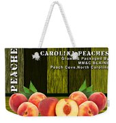 Peach Farm Weekender Tote Bag