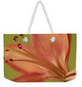 Peach Lily 1 Weekender Tote Bag