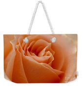 Peach Rose Weekender Tote Bag