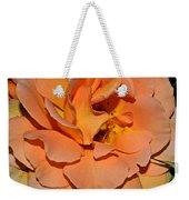 Peach Rose - Digital Paint Weekender Tote Bag