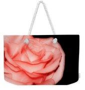 Peach Rose Portrait Weekender Tote Bag