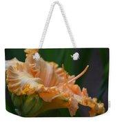 Peach Rufflette - Lily Weekender Tote Bag