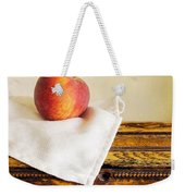 Peach Still Life Weekender Tote Bag
