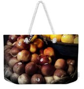 Peaches And Lemons Antique Weekender Tote Bag