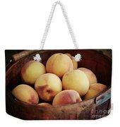 Peaches In A Basket Weekender Tote Bag