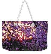 Peachy Sunset 1 Weekender Tote Bag