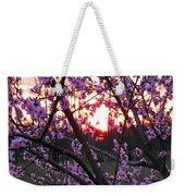 Peachy Sunset 2 Weekender Tote Bag