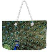 Peacock 8 Weekender Tote Bag