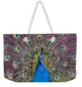 Peacock And Proud Plumage Weekender Tote Bag
