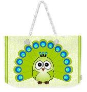 Peacock  - Birds - Art For Kids Weekender Tote Bag