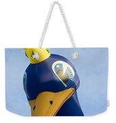 Peacock Balloon Weekender Tote Bag