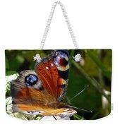 Peacock Butterfly Weekender Tote Bag