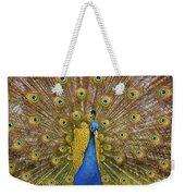 Peacock Courting Weekender Tote Bag