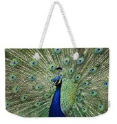 Peacock Display Weekender Tote Bag