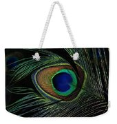 Peacock Eye Weekender Tote Bag