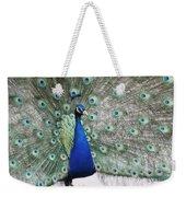 Peacock Fanning Weekender Tote Bag