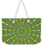 Peacock Feathers Kaleidoscope 2 Weekender Tote Bag