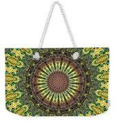 Peacock Feathers Kaleidoscope 7 Weekender Tote Bag