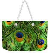 Peacock Feathers Weekender Tote Bag