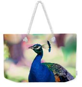 Peacock I. Bird Of Paradise Weekender Tote Bag