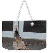 Peacock Mom And Kids 1 Weekender Tote Bag