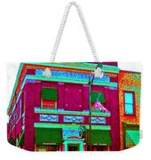 Peacock On Third Through Rose Colored Glasses Weekender Tote Bag
