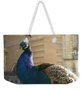 Peacock Profile Weekender Tote Bag