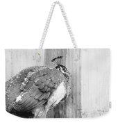 Peafowl Weekender Tote Bag