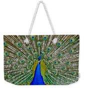 Peafowl Peacock Weekender Tote Bag
