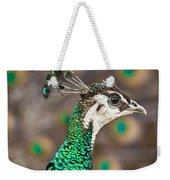 Peahen And Peacock Weekender Tote Bag