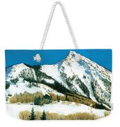 Peak Adventure Weekender Tote Bag