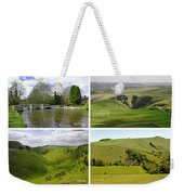 Peak District Collage 01-labelled Weekender Tote Bag