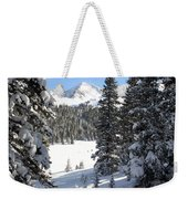 Peak Peek Weekender Tote Bag