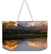 6m6530-a-peaks Reflected Touolumne Meadows  Weekender Tote Bag