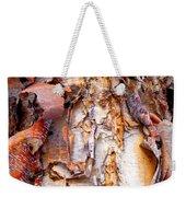 Pealing Bark Upclose Weekender Tote Bag