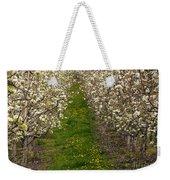 Pear Blossom Lane Weekender Tote Bag