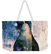Pear In Blue Weekender Tote Bag
