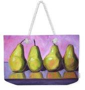 Pear Line Weekender Tote Bag