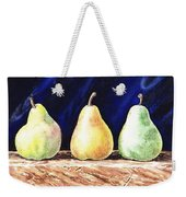 Pear Pear And A Pear Weekender Tote Bag