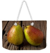 Pear Still Life Weekender Tote Bag