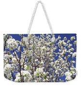 Pear Tree Blossoms In Spring Weekender Tote Bag