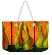 Pear Whimsy Weekender Tote Bag
