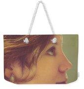 Pearl Earring Weekender Tote Bag