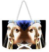 Pearl Earring Pearl Weekender Tote Bag