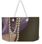 Pearl Necklace Weekender Tote Bag