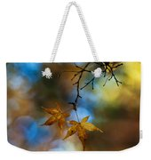 Pearlescent Acers Weekender Tote Bag