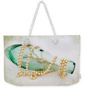 Pearls And Old Glass  Weekender Tote Bag