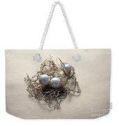 Pearls Weekender Tote Bag by Lali Kacharava