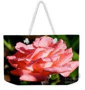 Pearly Petals Weekender Tote Bag